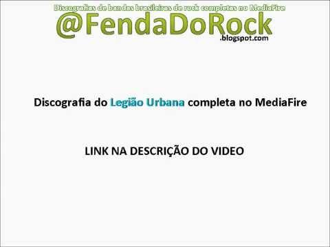 DISCOGRAFIA DO LEGIÃO URBANA COMPLETA NO MEDIAFIRE