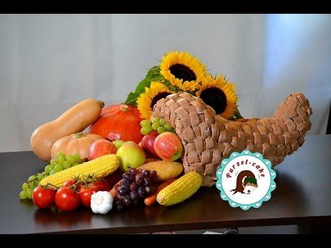 Erntedankfest Fllhorn Trote Motivtortenvon Purzelcake  YouTube