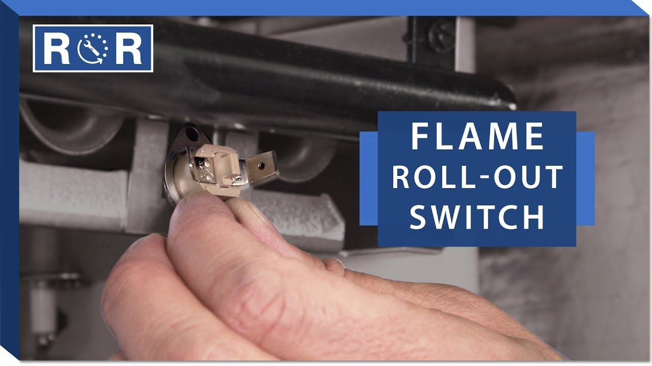 Furnace Flame Roll Out Switch Repair And Replace Youtube Boiler Limit Wiring Diagram