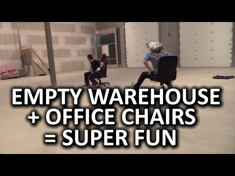 Chair Racing  Super Fun Warehouse Extravaganza  YouTube