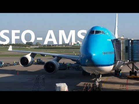 KLM 606 - San Francisco to Amsterdam - Boeing 747-400 - Economy Comfort