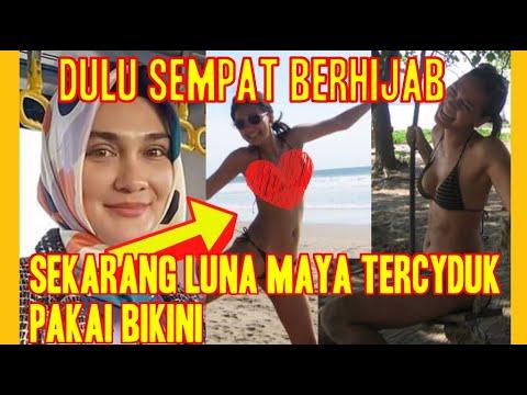 Luna Maya Kepergok Pakai Bikini Dan Liburan Di Pantai Dengan Teman Temannya