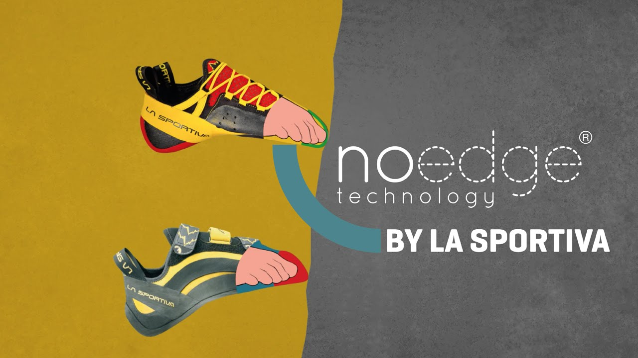 La Sportiva: the climbing shoes with No-Edge Technology - YouTube