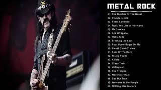 The Best Hard Rock Songs Ever_ Ultimate Hard Rock Metal Mix Nonstop Playlist