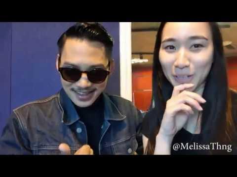 Melissa Th'ng (cuba) nyanyi Jampi dengan Hael Husaini