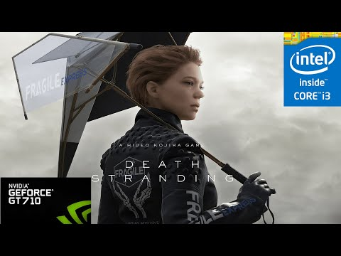 Death Stranding PC Gt 710 (Game crashes) |