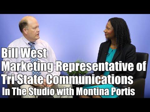 Atlanta Video Studio Guest Bill West | Tri State Communications | Atlanta GA