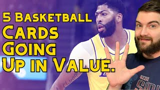 5 Basketball Cards Going Up in Value. Sports Cards Investing and Flipping.