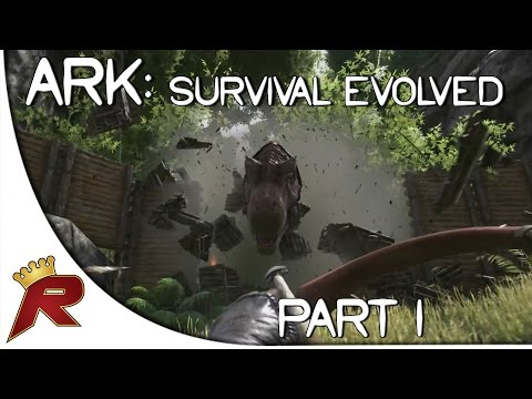 "Ark: Survival Evolved Gameplay - Part 1: ""First Impressions!!"" (Giveaway Ended)"