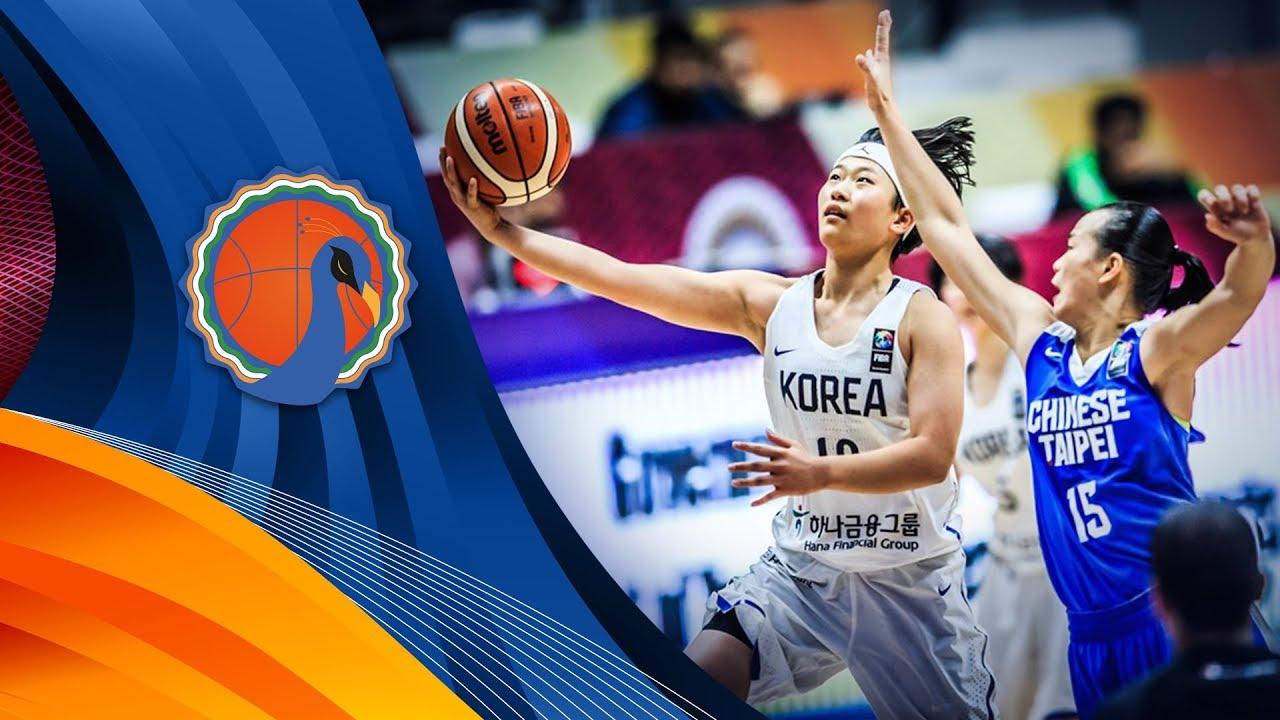 LIVE🔴 - Korea v Chinese Taipei - FIBA U16 Women's Asian Championship 2017