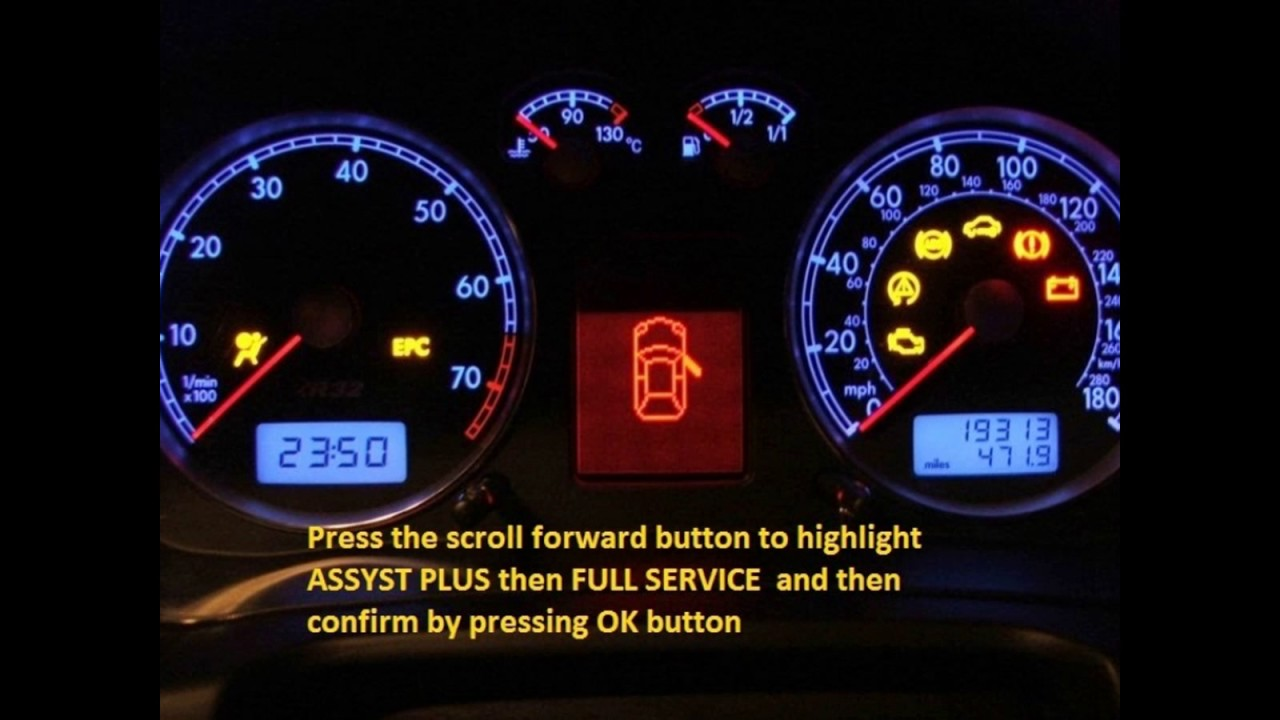 Jeep Patriot 2008 2012 How To Reset Service Light