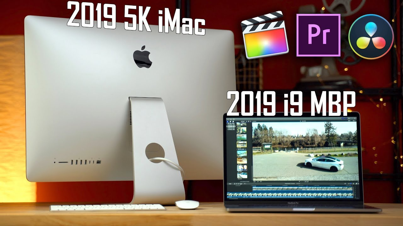 2019 MacBook Pro vs 2019 5k iMac - Video Editing Comparison