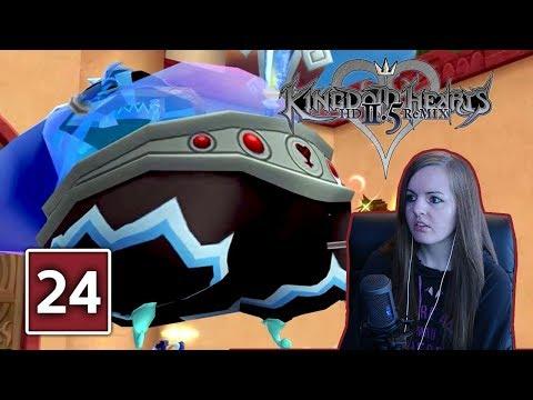 VOLCANIC & BLIZZARD LORD BOSS FIGHT | Kingdom Hearts 2.5 Final Mix Gameplay Walkthrough Part 24