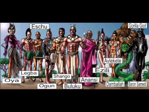 the gods of africa part 1