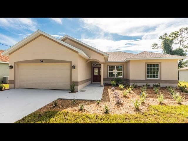 Certified Green Home in Palm Coast, Florida. Model Denise