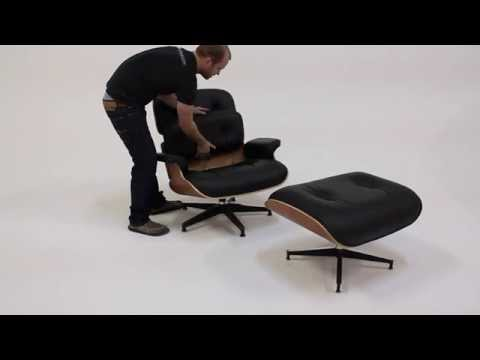 Herman Miller Eames Lounge Chair Cushion Removal / Installation Guide