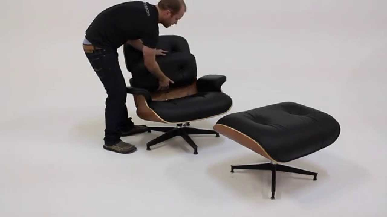 Herman Miller Eames Lounge Chair Cushion Removal / Installation Guide    YouTube