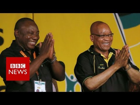 Ramaphosa succeeds Zuma as South African president - BBC News