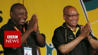 Ramaphosa succeeds Zuma as South African president - BBC News