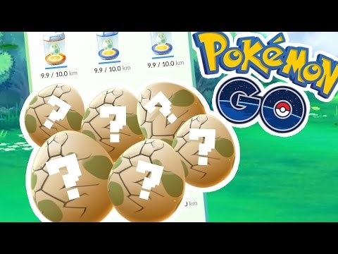 HATCHING OUR LAST 6 10KM EGGS FROM EUROPE!! | Pokémon GO w/ ThinksWife