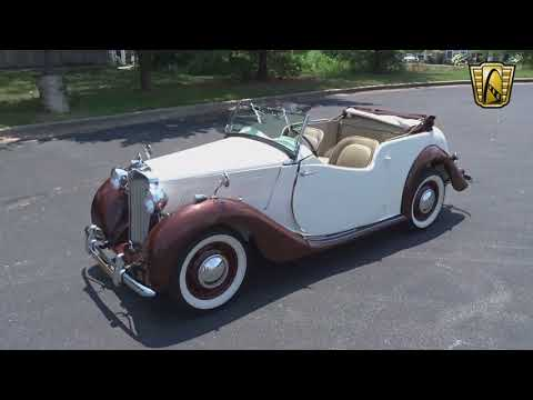 1949 MG YT 2DR Tourer Convertible Stock #7745 Gateway Classic Cars St. Louis Showroom