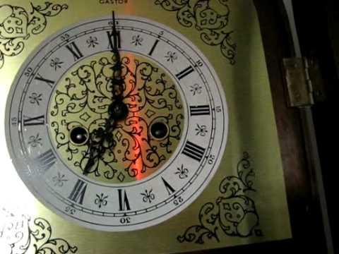 orologio a pendolo tempus fugite mod gastor - YouTube
