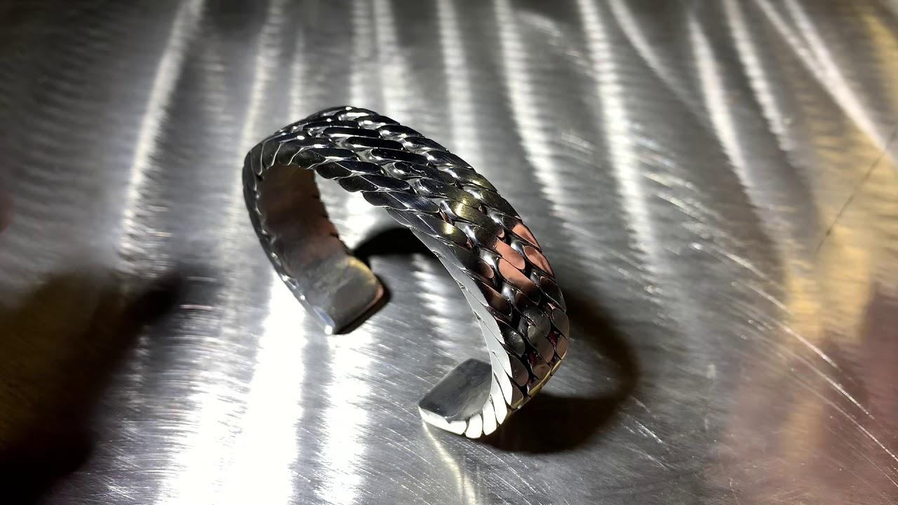 Stainless Steel Welders Bracelet You