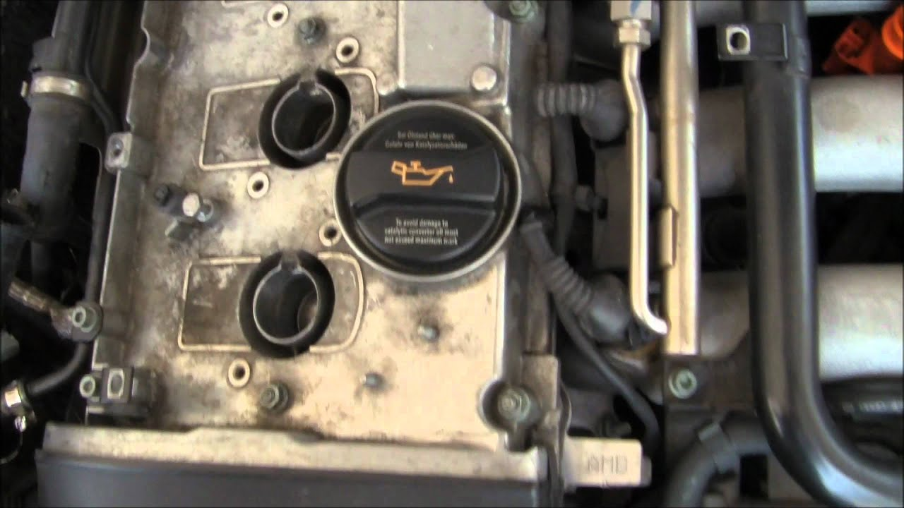 2004 Audi A4 Coolant Flange Replacement Part 2 Youtube