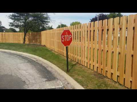 Post master post Board on board fence  #1 western red cedar by Arteaga fence.