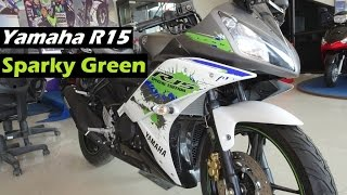 Yamaha R15 Version 2.0 | Limited Edition | Special Edition Sparky Green | India