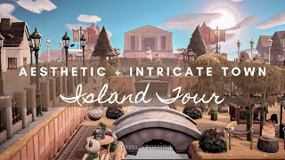 AESTHETIC + INTRICATE TOWN ISLAND TOUR | Animal Crossing New Horizons