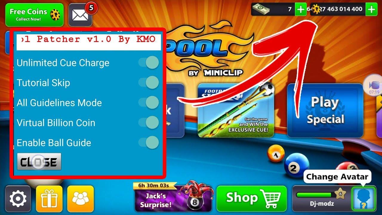 8 ball pool hack apk download no root