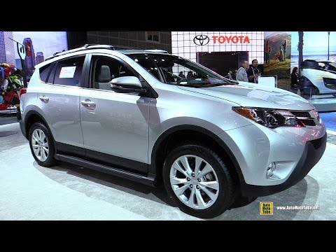 2015 new toyota rav 4 exterior and interior doovi. Black Bedroom Furniture Sets. Home Design Ideas