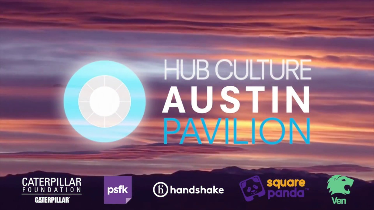 Value of Water day at the Hub Culture Austin Pavilion 2018