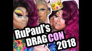 RuPaul's DragCon LA 2018     Lushious Massacr