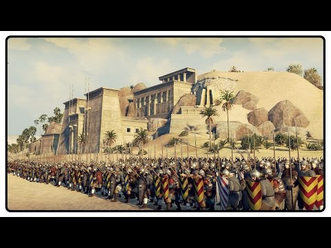 GLORIOUS BATTLE OF THE NILE - Medieval Kingdoms Total War 1212AD