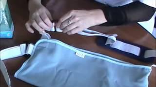 видео Мягкие фиксаторы для рук