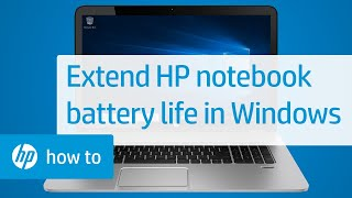 Extend Your HP Notebook Battery Life in Windows | HP Computers | HP