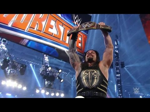 Download WWE WrestleMania 32 TRIPLE H VS ROMAN REIGNS WWE TITLE Full Match
