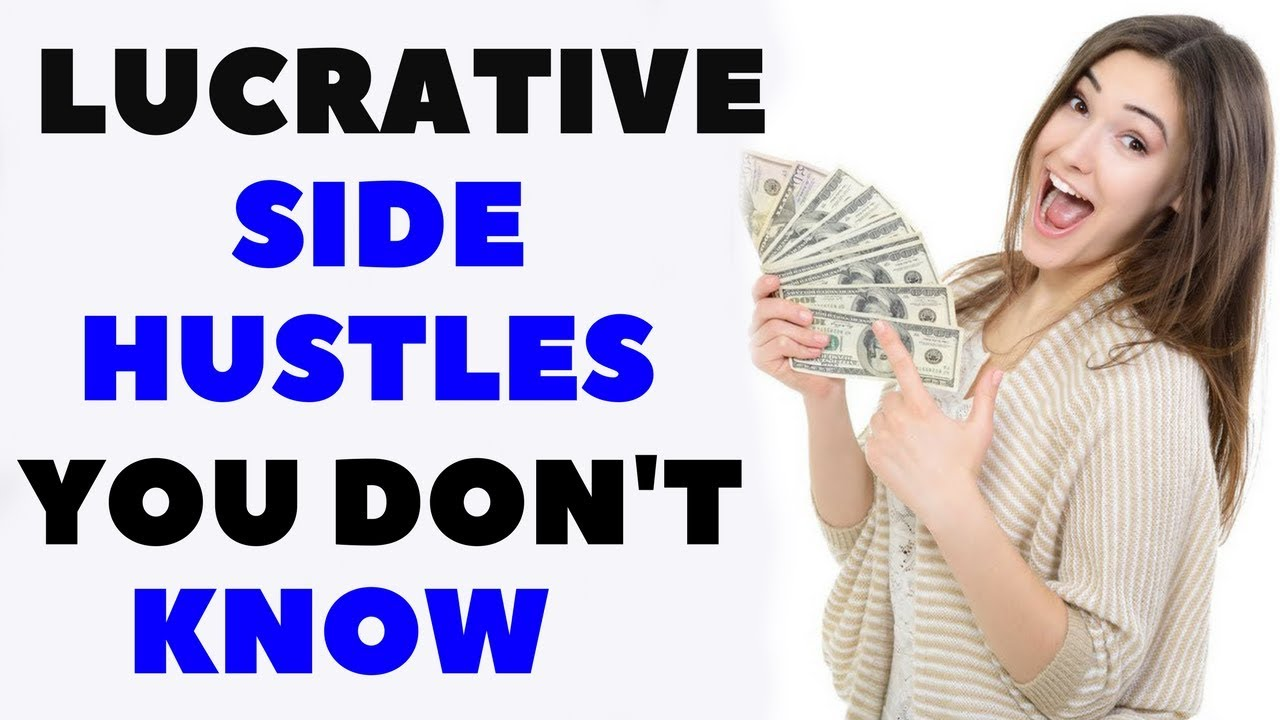 TOP 10 SIDE HUSTLES [WAYS TO MAKE EXTRA INCOME] - YouTube