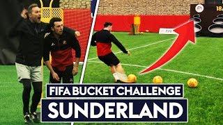 The PERFECT 500 point bucket shot!? | Sunderland vs Soccer AM | FIFA Bucket Challenge!