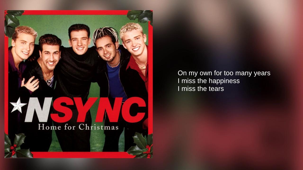 N\'Sync: 01. Home For Christmas (Lyrics) - YouTube