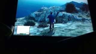 GTA 5 Easter Egg: The Ghost Of Mount Gordo!
