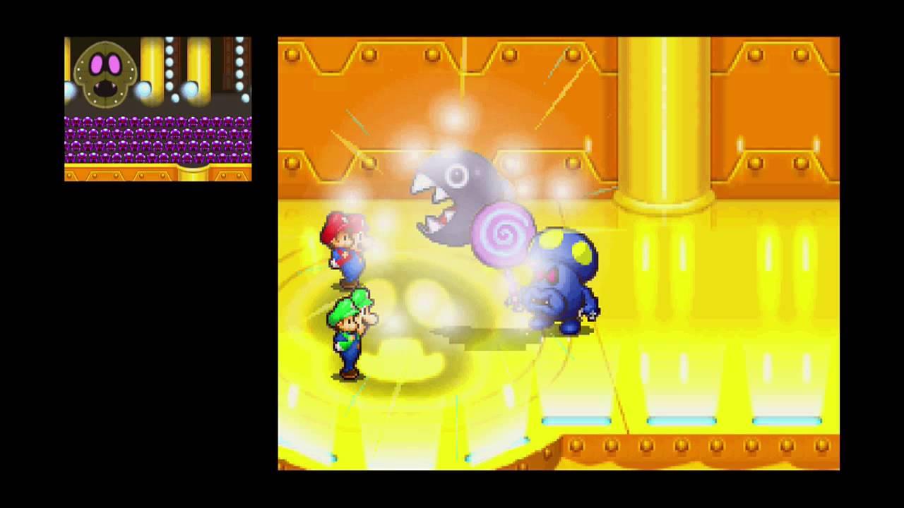 Mario Luigi Partners In Time Boss 7 Shrooboid Brat Youtube