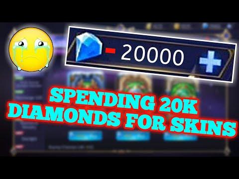 SPENDING 20K DIAMONDS TO GET LANCELOT EPIC SKIN | MOBILE LEGENDS