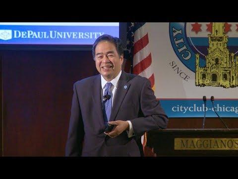 Dr. A. Gabriel Esteban, President, DePaul University