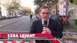 Ezra Levant in Paris: First report -- Why I
