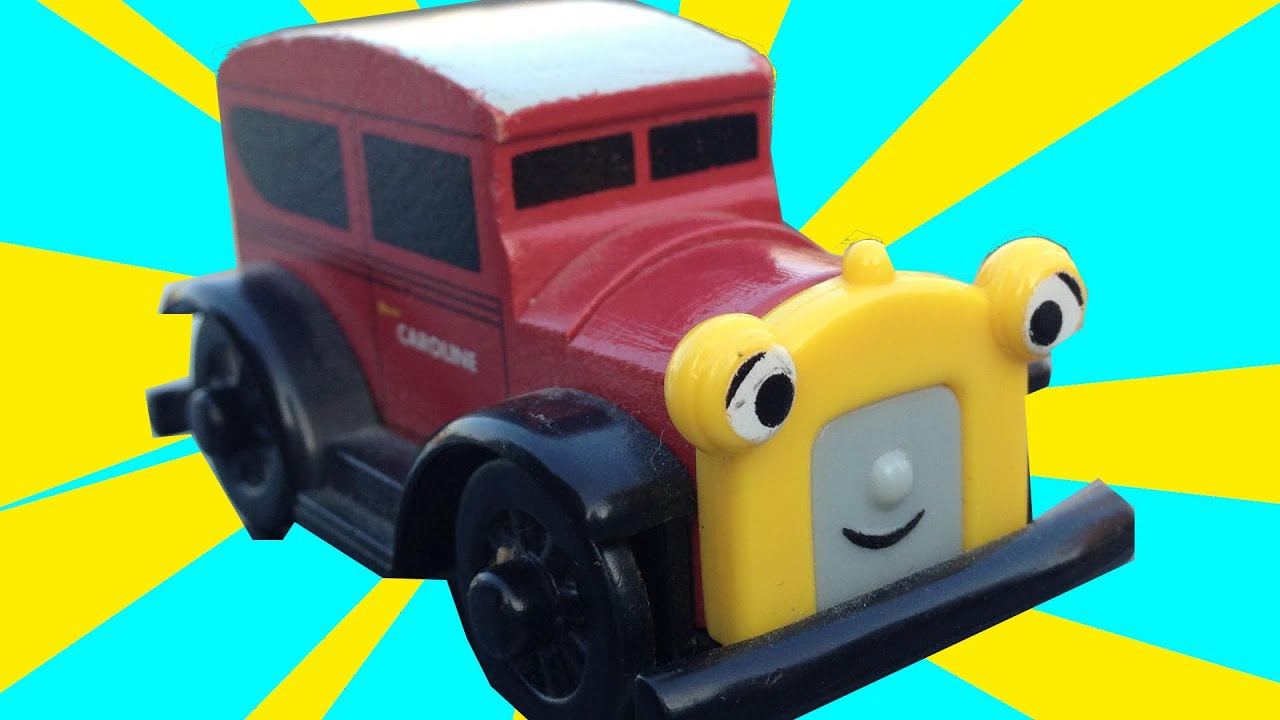 caroline the car thomas the tank engine friends wooden toy railway review character fridays. Black Bedroom Furniture Sets. Home Design Ideas