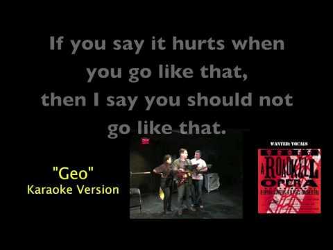Geo Karaoke Video from A Roadkill Opera