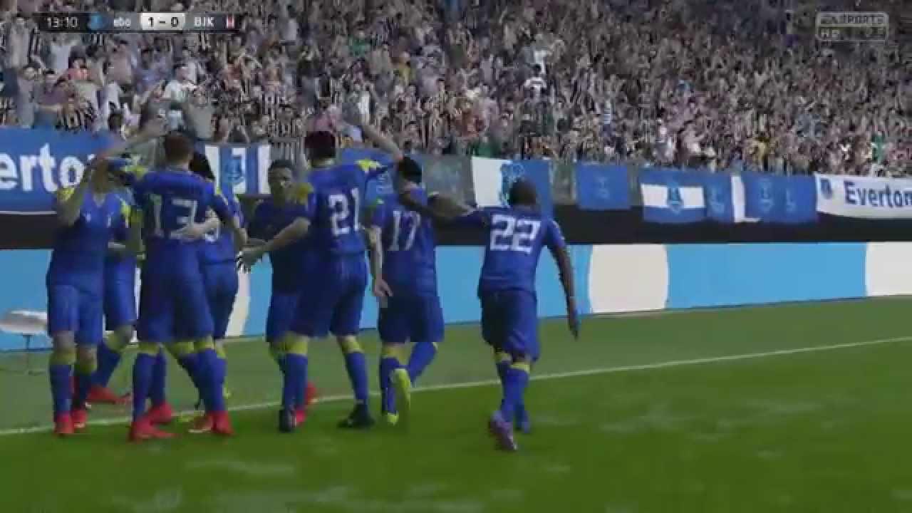 FIFA 15 Tevez back heel goal - YouTube